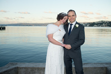 Wedding photography by James Gilberd, Cathy & Hew, Wellington, July 2014, winter wedding in Wellington